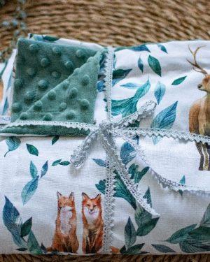 couverture plaid bébé enfant canapé, artisanal fait main