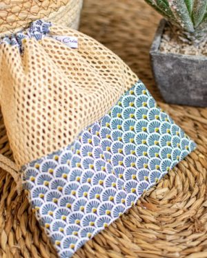 filet de lavage sac à vrac bio fait main