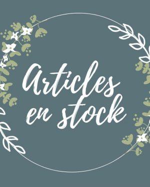 Articles en stock
