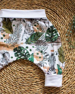 sarouel évolutif bébé pantalon fait main
